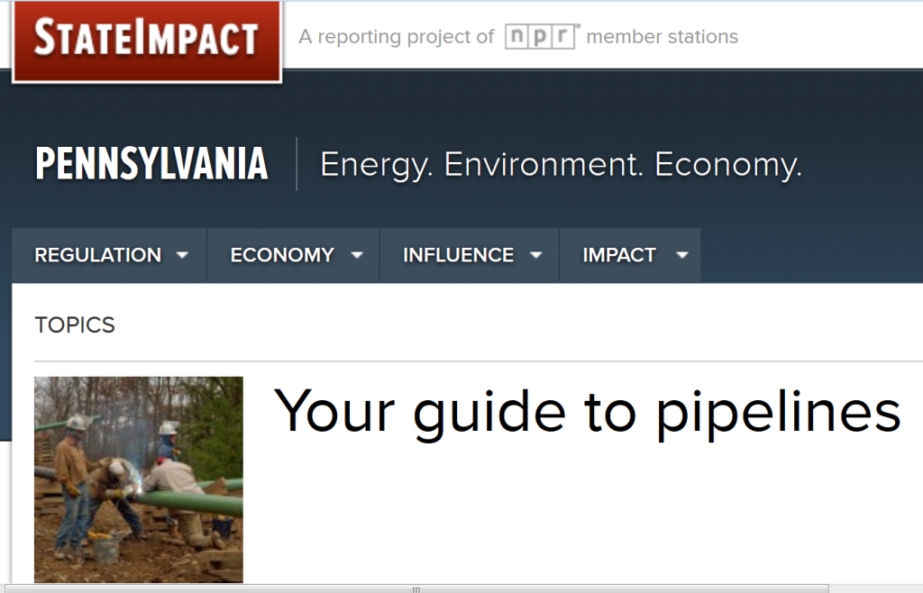 Screenshot - State Impact on Pipelines.