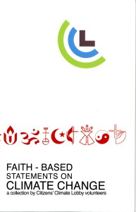 132 Page book of Statements by World Faith Leaders.